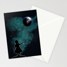 The Girl That Holds The World Stationery Cards