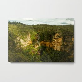 Wentworth Falls- Blue Mountains Metal Print