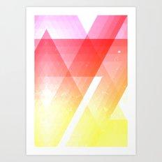 heat meter Art Print
