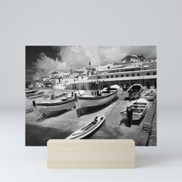 Harbour Mini Art Print
