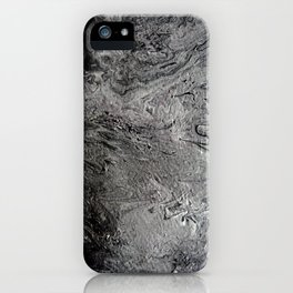 Black Lava II iPhone Case