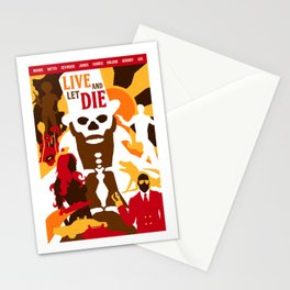 James Bond Golden Era Series :: Live and Let Die Stationery Cards