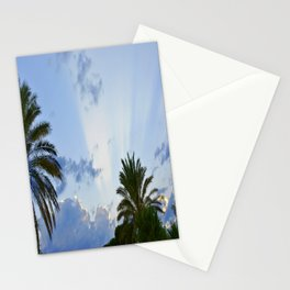 Palms on Clouds  Stationery Cards