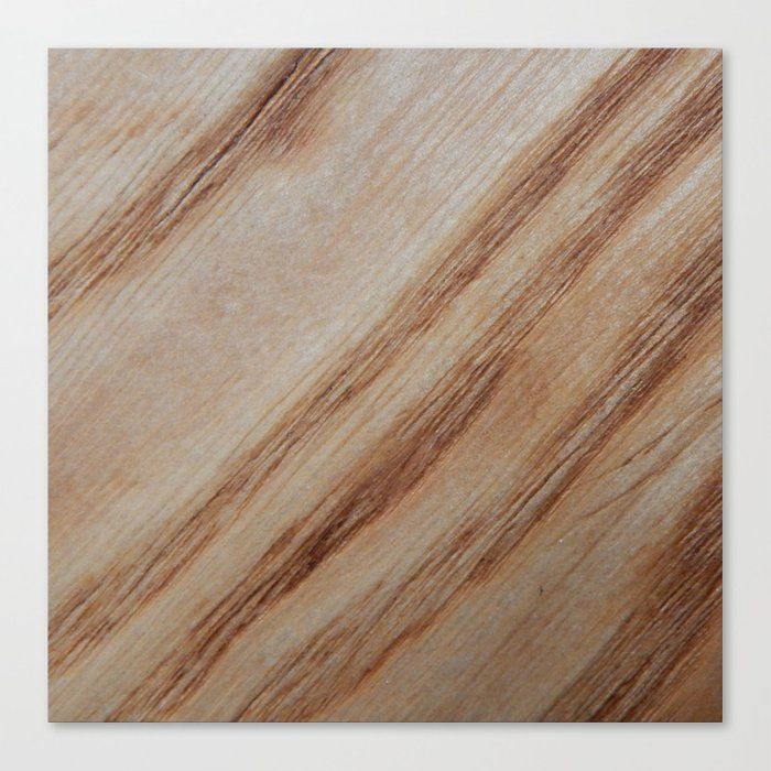 Unique Beautiful Wood Veneer Design Canvas Print