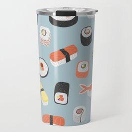 Sushi Roll Maki Nigiri Japanese Food Art Travel Mug