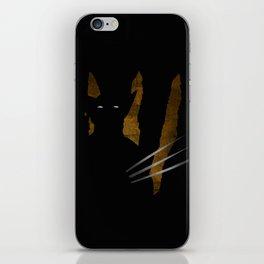 SuperHeroes Shadows : Wolverine iPhone Skin