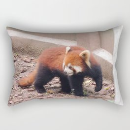 Chongqing Red Panda | Panda roux Rectangular Pillow