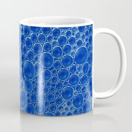 Champagne Bubbles Collection: #3 – Mediterranean Blue Coffee Mug