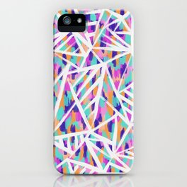 Justine Abstract iPhone Case