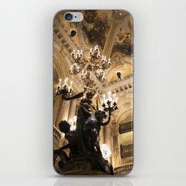 Paris Opera House II - travel photography iPhone Skin