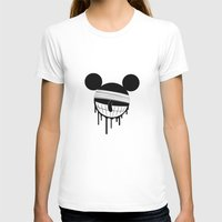 mickey T-shirts featuring Mickey by ConvictionArt