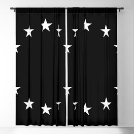 Flag of Europe 3 – tragical variation Blackout Curtain