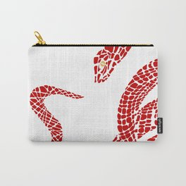 Red  big snake Carry-All Pouch