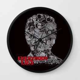 Everybody Lies Wall Clock