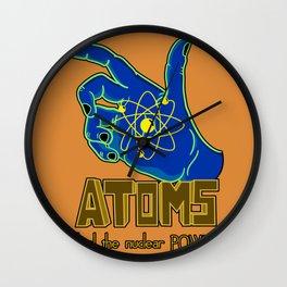 Atoms  Wall Clock