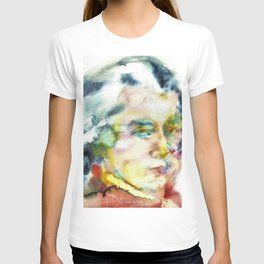 WOLFGANG AMADEUS MOZART - watercolor portrait T-shirt