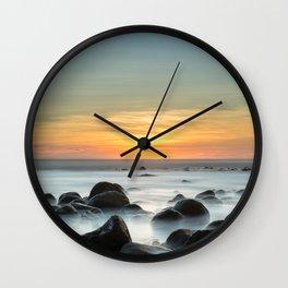 Sunset Zonte Wall Clock
