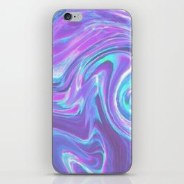 iridescent | bleu's creations. iPhone Skin