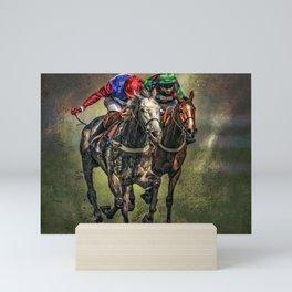 The Race Mini Art Print