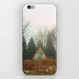 Triangle in the Woods iPhone Skin