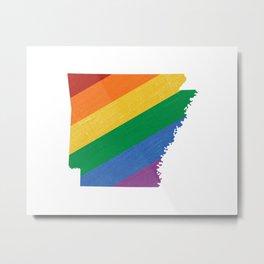 Arkansas Pride Metal Print