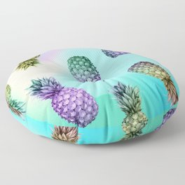 Pineapple Glow Floor Pillow