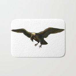 Vintage Vulture Bath Mat