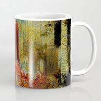 acid Mugs featuring Acid rain by Ganech joe