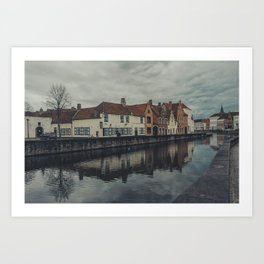 Brugges Art Print