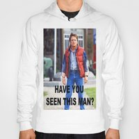 marty mcfly Hoodies featuring MARTY by Dora Birgis