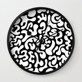 Social Networking (Reverse) Wall Clock