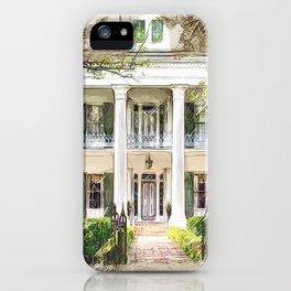 Sturdivant Hall, Selma Alabama iPhone Case