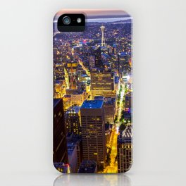 Downtown Seattle iPhone Case