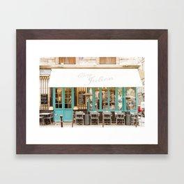 Chez Julien Framed Art Print