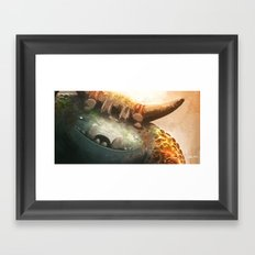 Forest Keeper Framed Art Print