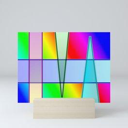 Shaded gradients ... Mini Art Print
