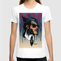 karl lagerfeld T-shirts featuring wolvereen  vs Karl Lagerfeld  by el brujo