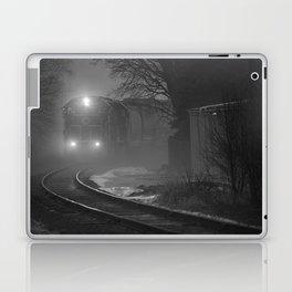 Train In The Fog Laptop & iPad Skin