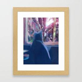 Indoor Cat Framed Art Print