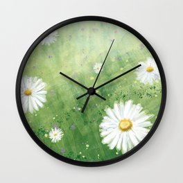 Let it be Summer Wall Clock