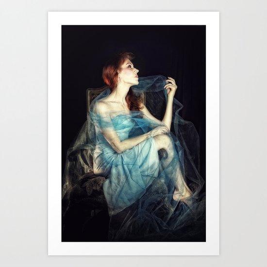 How the Moon Romances Art Print