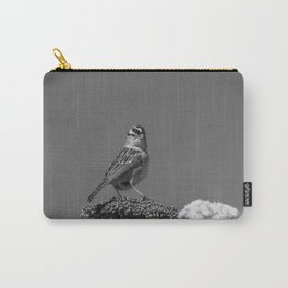 White-crowned Sparrow Carry-All Pouch