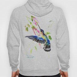 Flying Blue Hummingbird Hoody