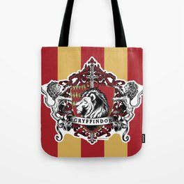 Gryffindor Color Tote Bag