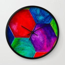 GEOMETRIC BRIGHTS #3 Wall Clock