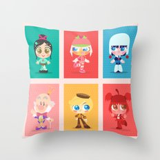 SUGAR RUSH Throw Pillow