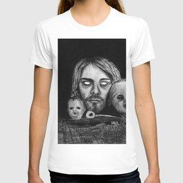 Heads and Kurt. T-shirt