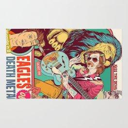 Vintage Rock Poster v14.0 Rug