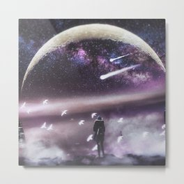 INFINITE WORLD #1 Metal Print
