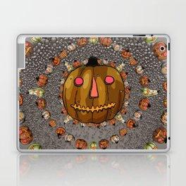 Halloween Pumpkins, a Cornucopia of Jack o' lanterns. spoopy Laptop & iPad Skin